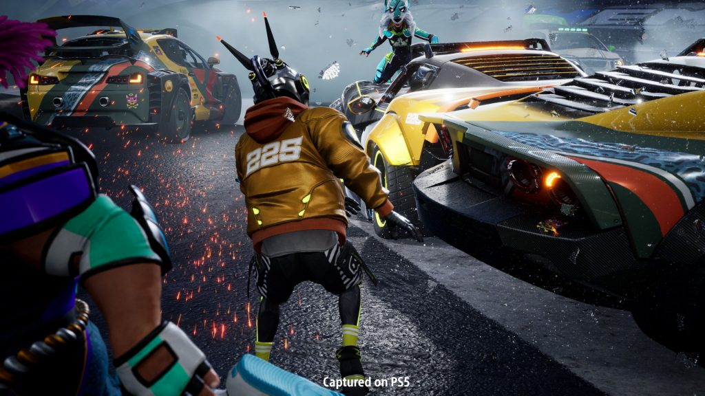 Share Factory Studio shows unpublished games of PS5 battle racer