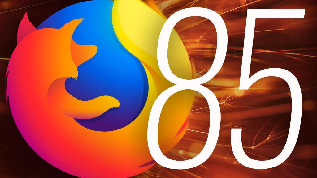Firefox: Updates to Mozilla version 85.0.1