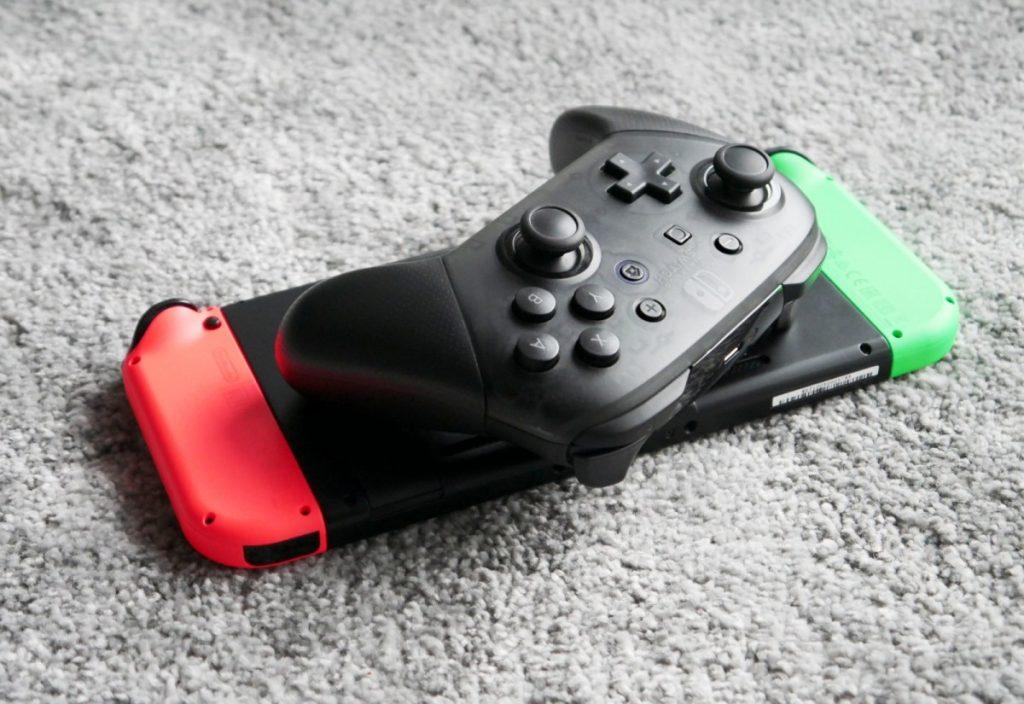 Nintendo Switch Pro Controller Header