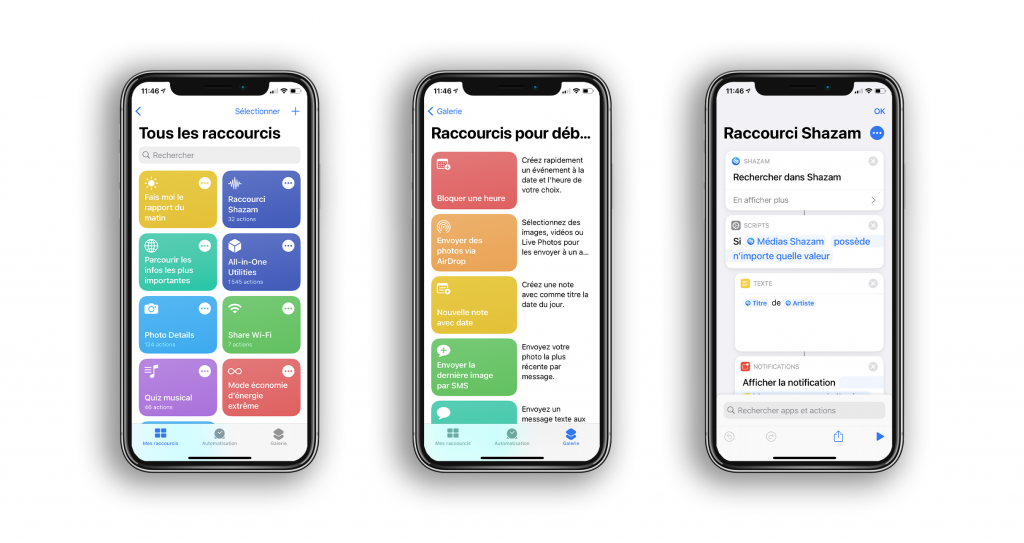You should have 10 shortcuts on your iPhone