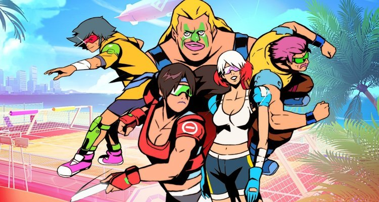 Windjammers 2, Tried: Competitive Frisbee is back