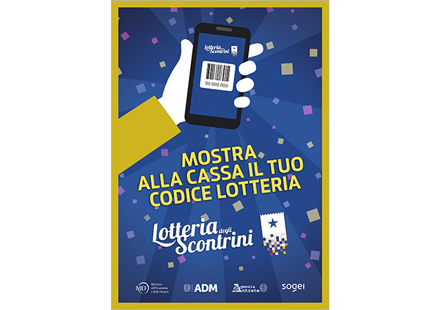 Receipt Lottery: Flyer for merchants