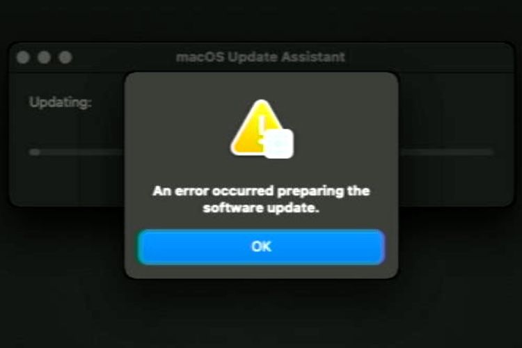 The MacOS Big Sur installer does not calculate the storage space required to upgrade the Mac