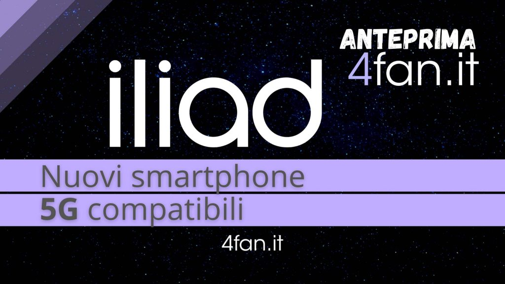 Elliott 5G, the first new compatible smartphones from today (Preview 4Fan.it)