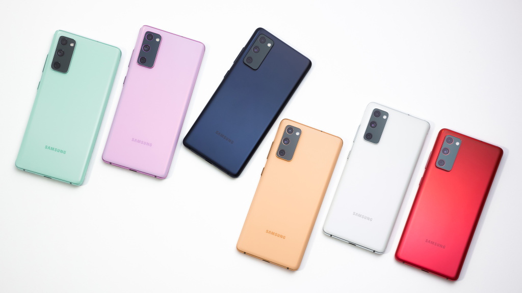 Samsung Galaxy S20 FE: S21-Features Tank Update