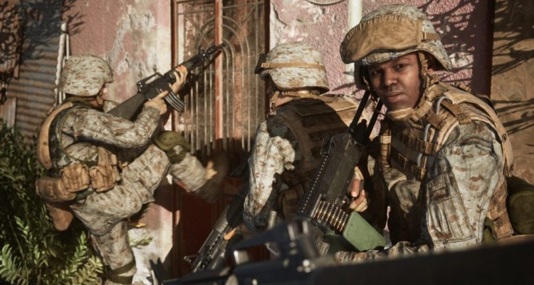 Six days in Fallujah, the trailer announced the return of the game, which was canceled by Konami in 2009