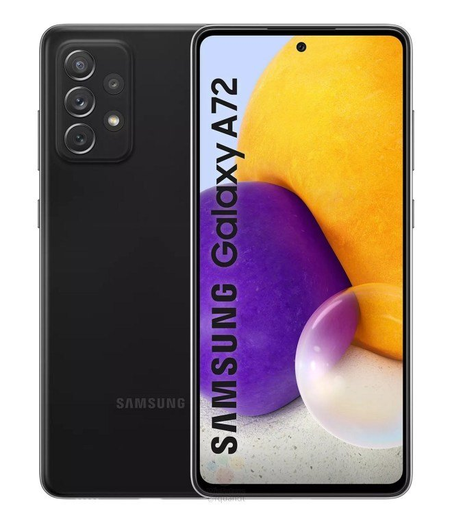 Samsung is all set to launch the Galaxy A72 here (photo)