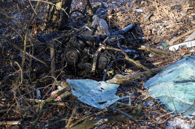 Drivers stranded for hours in undiscovered wreckage in St. George's near Greisskirchen