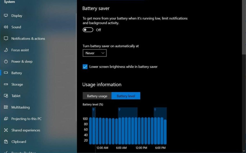 Here is the new battery manager, very accurate and efficient