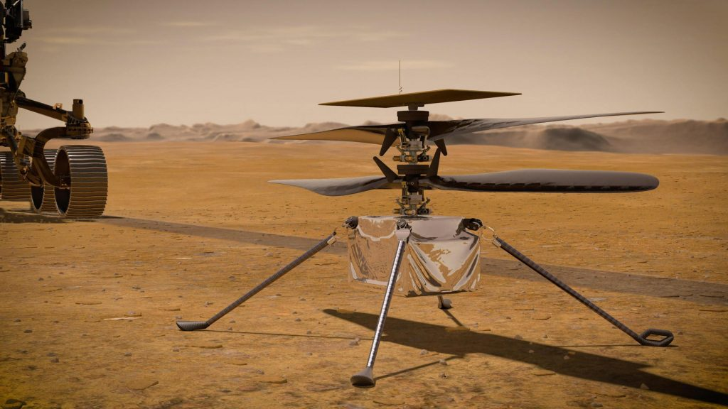 """Helicopter """"intelligence"""" reports from the planet for the first time"""