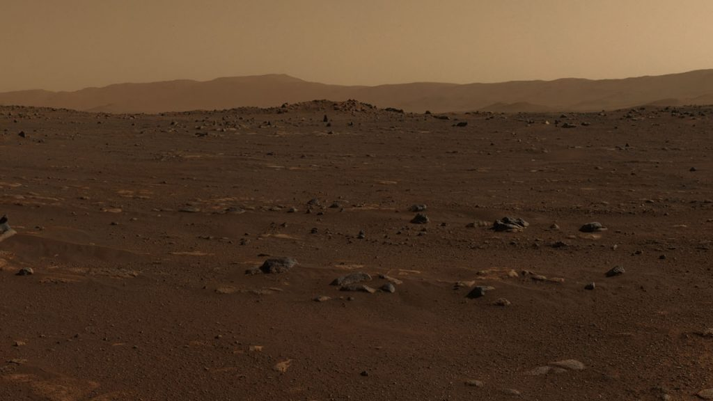 NASA's diligence began to take the first pictures of Mastcam-Z