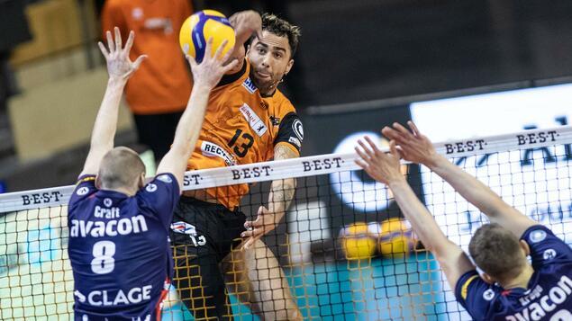 3-1 win at Volleyball Bundesliga: Netjopers - PR at Sport.