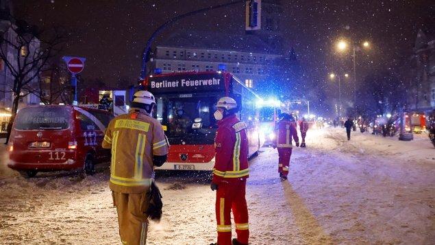 Berlin-Freidena fire: Refugee shelter fire not deliberately started - Berlin
