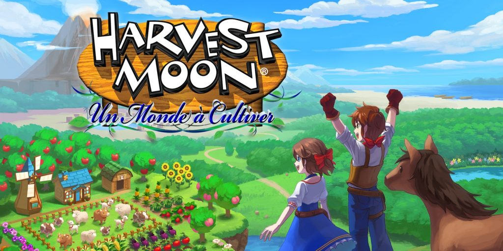 Date for Harvest Moon, A Card and French Pictures: Nintendo Switch Un Monte ர்ப்பு Cultivation