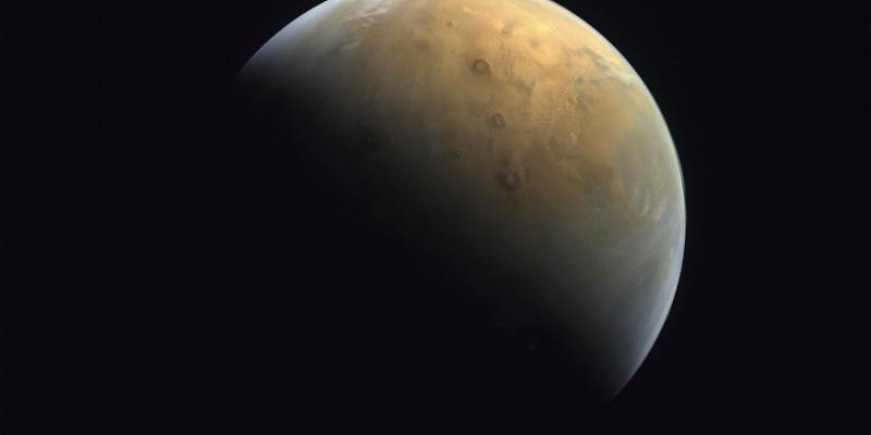 Emirates Space Exploration sends first image of Mars