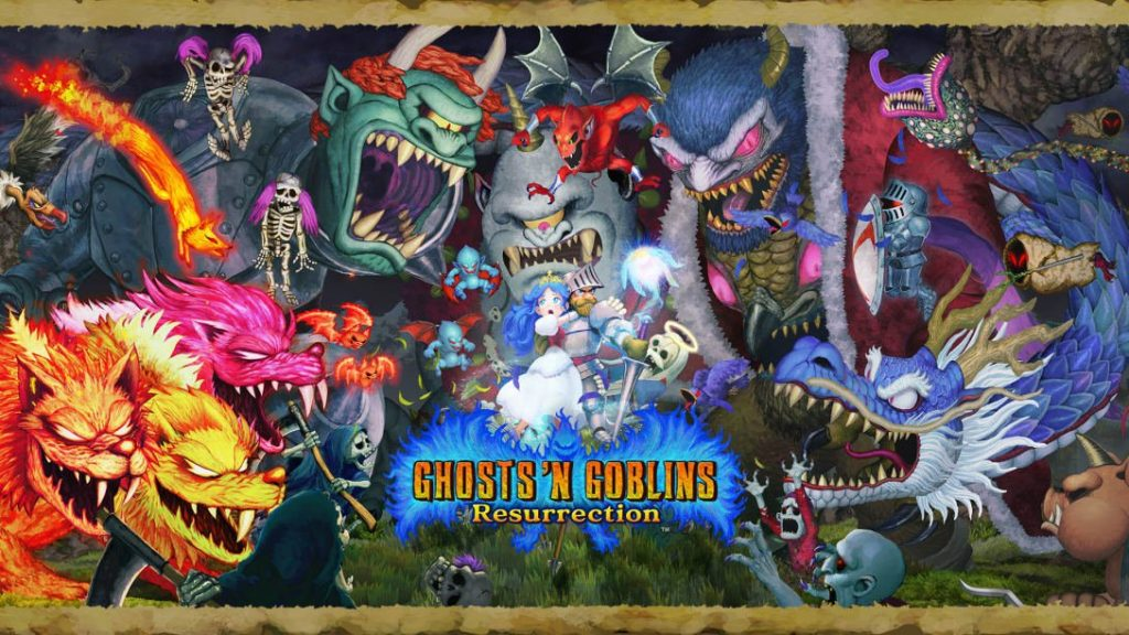 Ghost's My Goblin Resurrection - now available for the Nintendo Switch