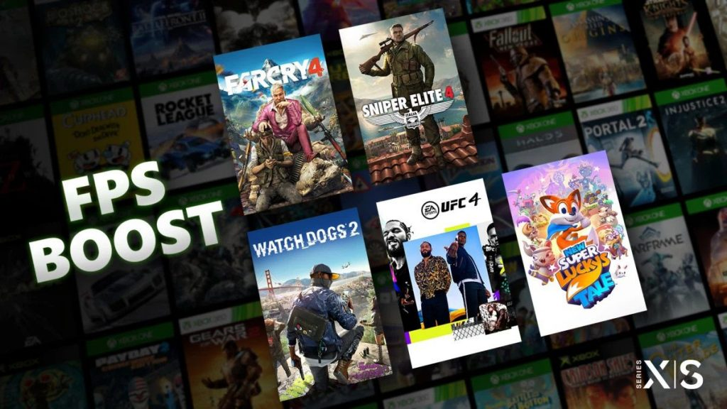 Here is the FPS Boost, the function of 'increasing' backward compatibility