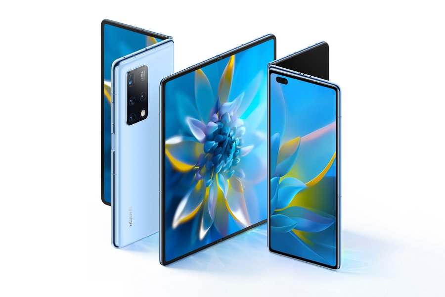 Huawei offers its Matte X2, a folding smartphone that adopts Samsung's folding design