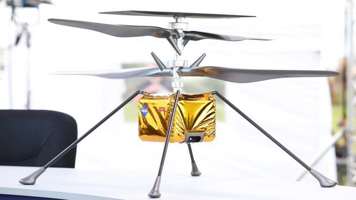 Le petit hélicoptère Ingenuity devra réussir à s