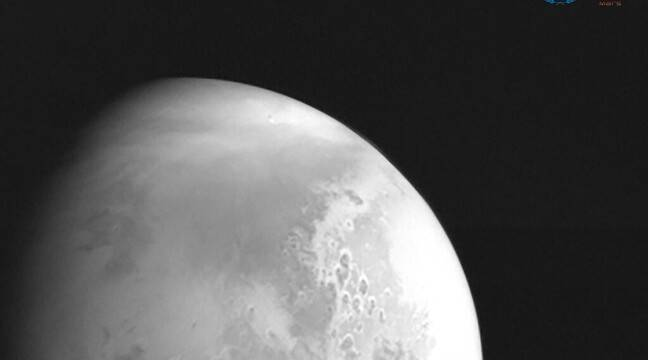 On its way to Mars, China's Tianwen-1 probe sends the first photo of the red planet