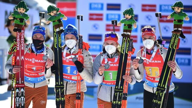 Participating in the World Cup in Pokல்mon - Francisco Bruce Wins First Medal for German Biathletes - Strange Society