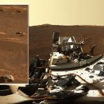 """Rover """"diligence"""" sends high-resolution panorama image from Mars"""