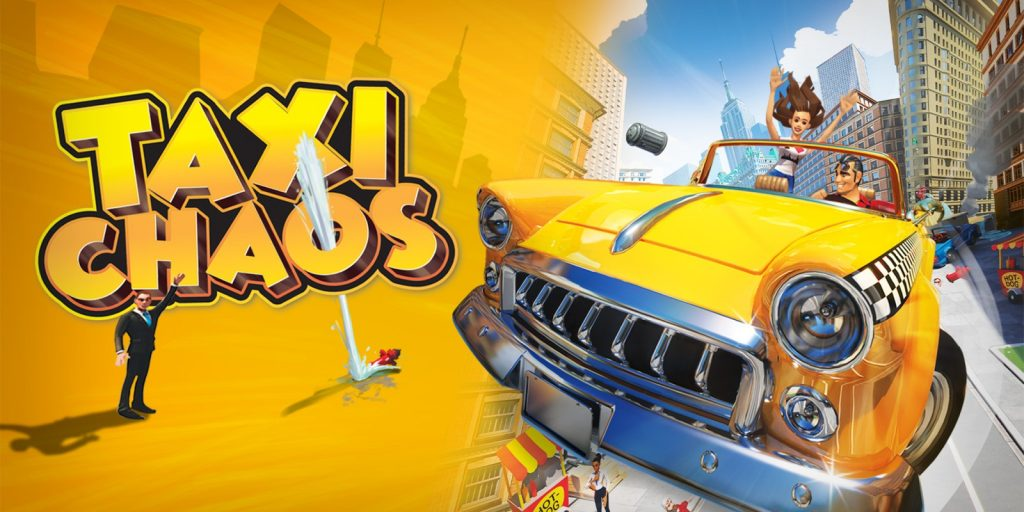 Some pictures and first video for Taxi Chaos on Nintendo Switch