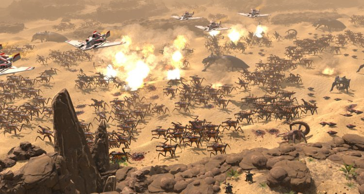 Starship Troopers - Terron Command, Gameplay Trailer Dell 'Imboscotta Paddy Canyon