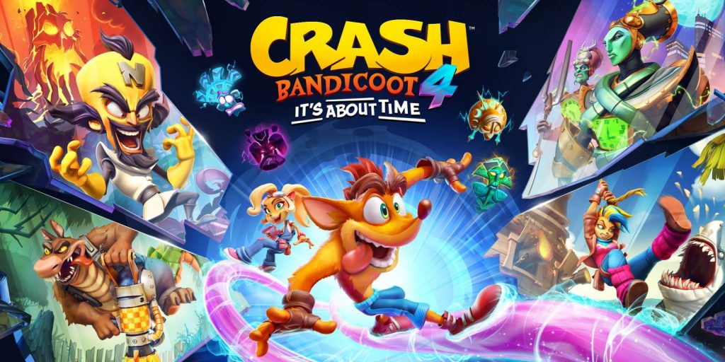 Surprisingly, Crash Bandicoot 4 was announced for the Nintendo Switch