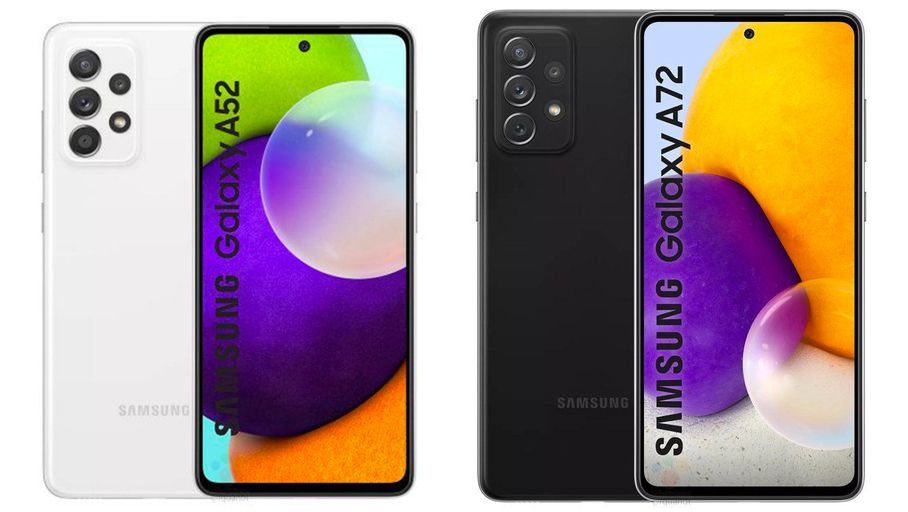 The next Samsung Galaxy A52 and A72 are revealed by leaks