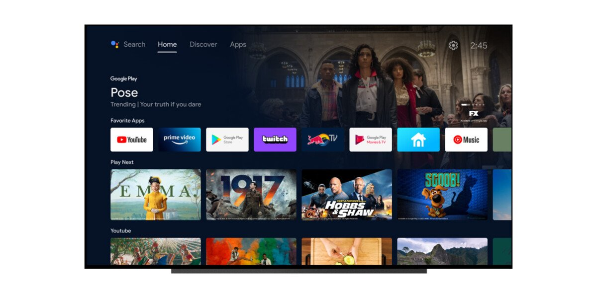 A few days ago, with the advent of Android 12 in beta 3, Android TV was enriched with some interesting new features.