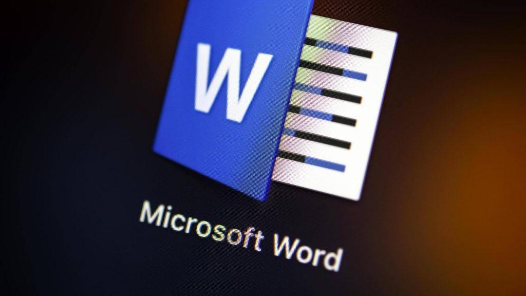Word gets a new dark mode
