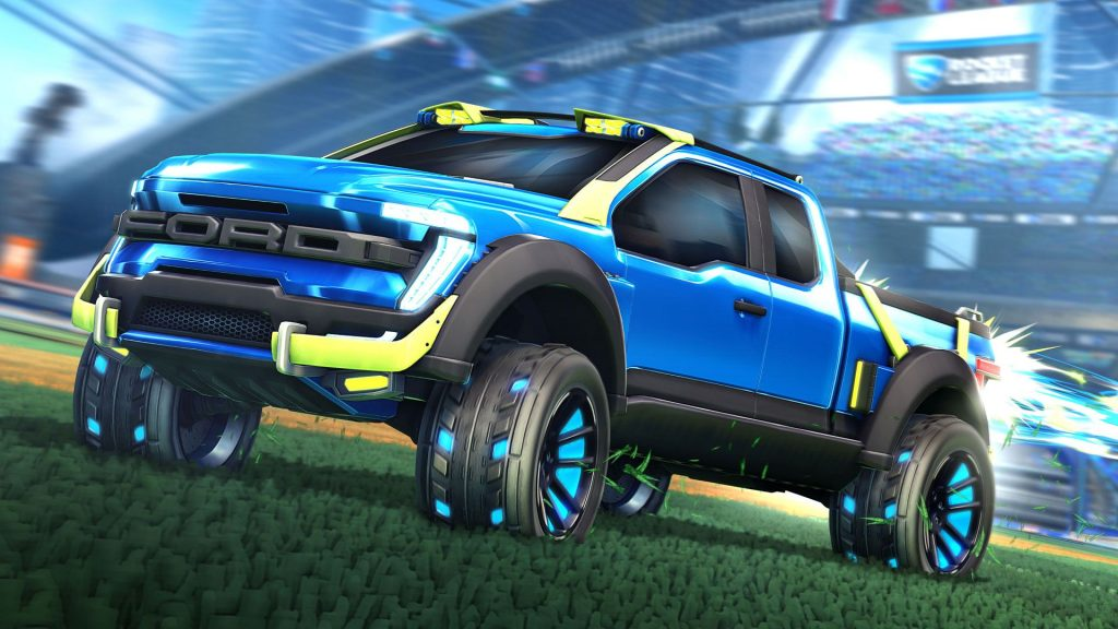 Zionics and Ford announce Rocket League collaboration