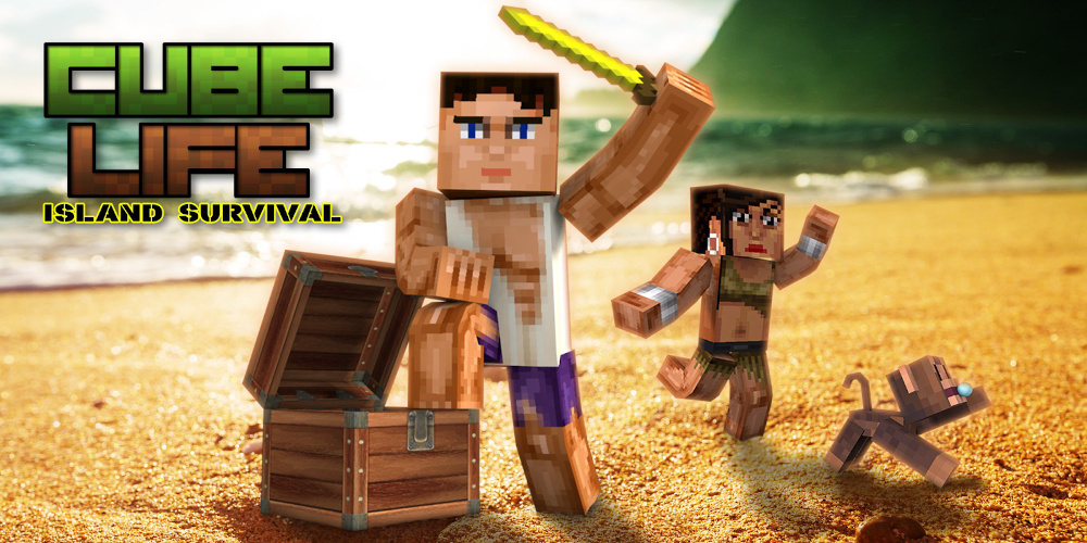 Cube Life: Island Survival - Switch - ntower
