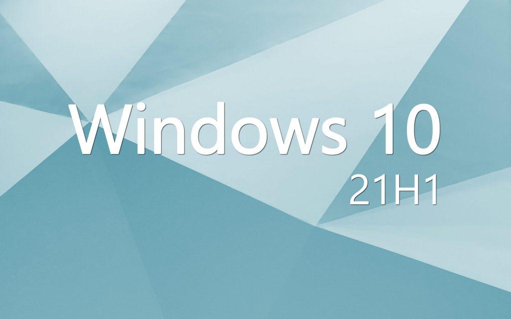 Windows 10 21 H1: Update already on PCs