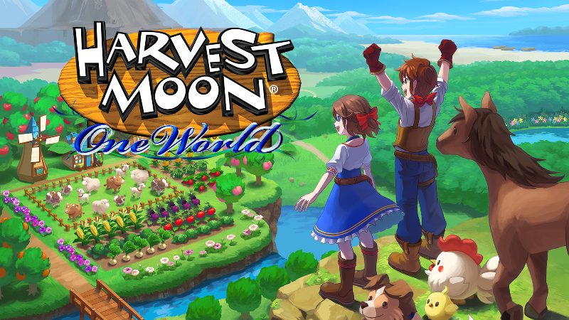 Harvest Moon: A World - Now Available for the Nintendo Switch