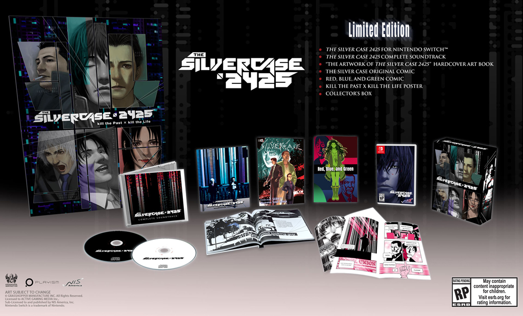 Silver Case 2425 - Released on July 9, 2021 for the Nintendo Switch
