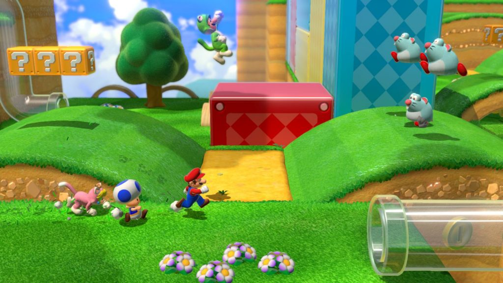 """""""Super 3D Mario World + Bowser's Fury"""" in the test for the Nintendo Switch!"""