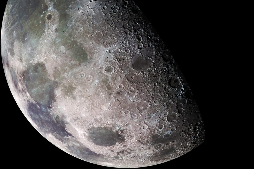 """Researchers are proposing to create a """"lunar curve"""" to save millions of species"""