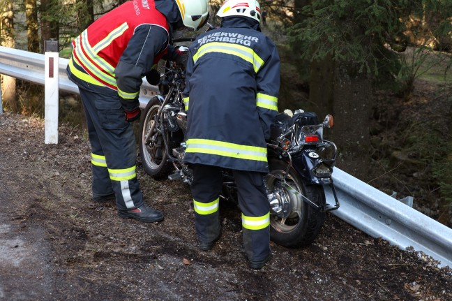 Dangerous traffic accident by motorcycle near St. Aquitaine