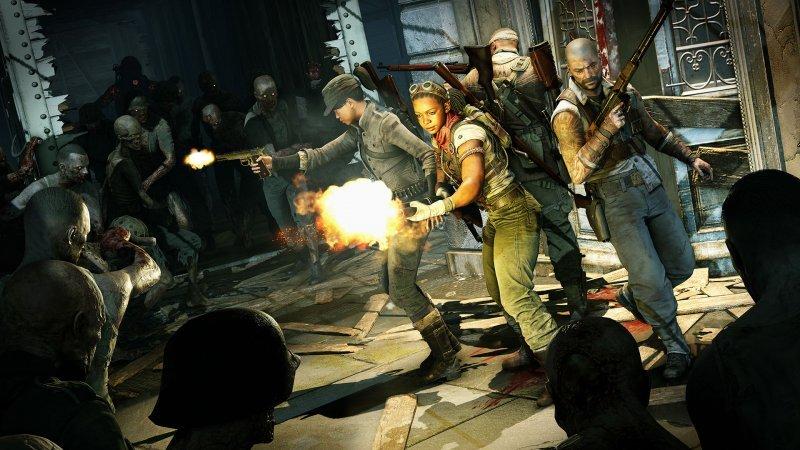 Zombie Army 4: Dead War II post-World War II horror