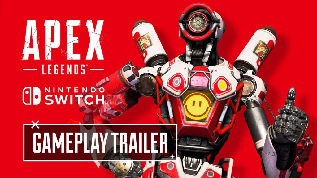 Apex Legends released on Nintendo Switch on March 9th!