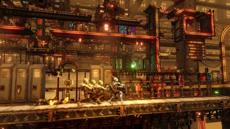 Otward: Takes the classic style of the Soulstorm series as a stage adventure