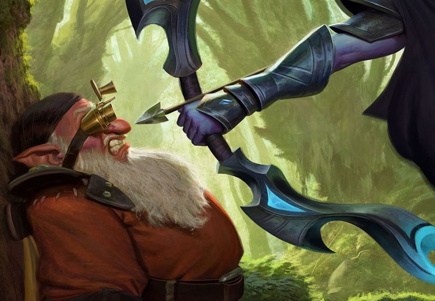 Artifact: Valve abandons case and abandons his card game - narrator statement