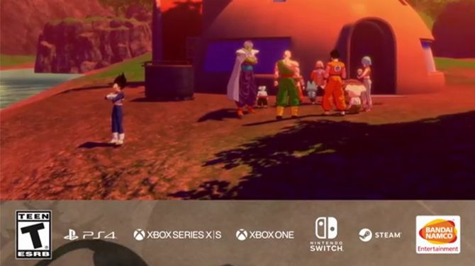 Dragon Ball Z Gagarot Switch and Xbox Series X | S, allegedly leaked in video sources [MAJ]