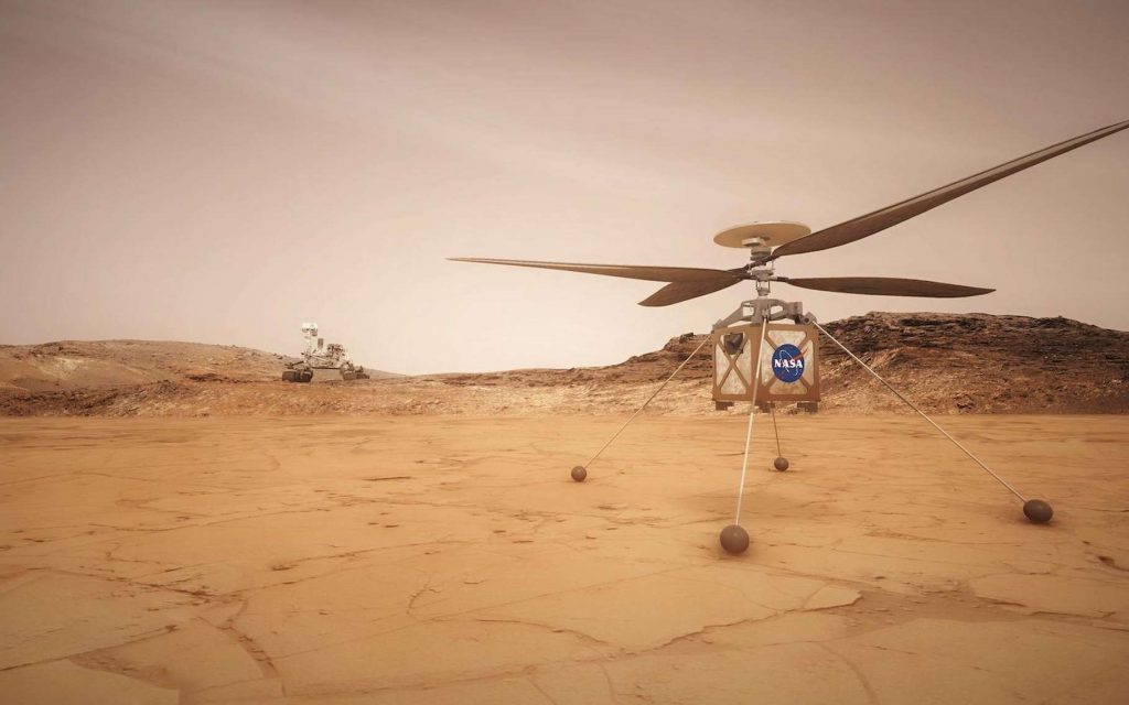 Perseverance: NASA is preparing to release the first robotic ingenuity to fly to another planet