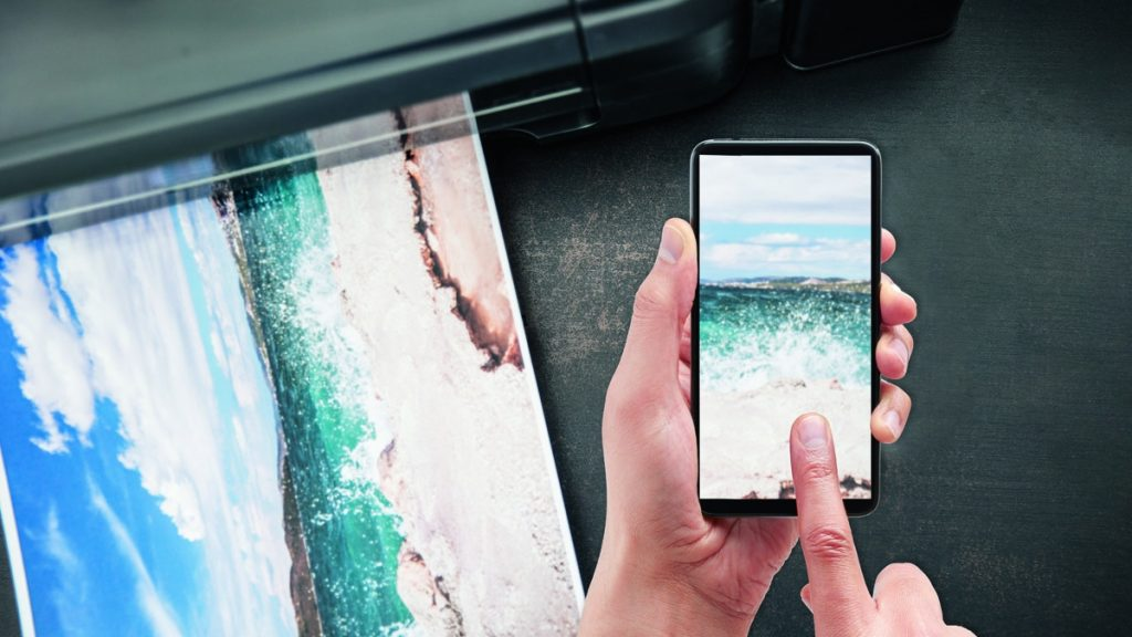Print your photos with your mobile phone