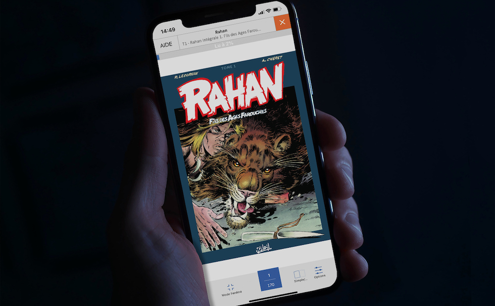 Rahan in digital - izneo exclusive