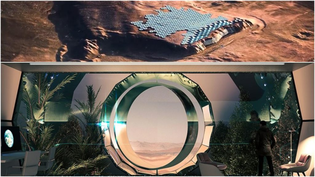 The first city on Mars: The Red Planet has announced plans to cater to 250,000 people