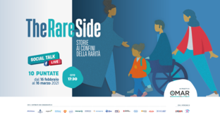 Part #TheRAREside, an online talk show revealing the unknown side of rare diseases